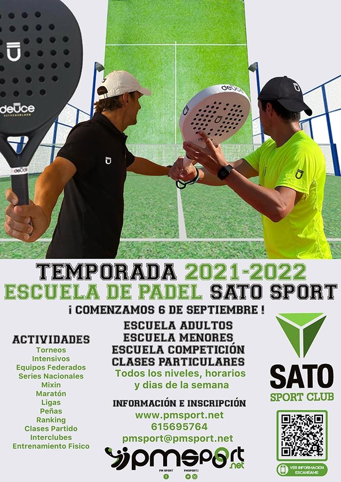 IESCUELA PADEL SATO SPORT, TEMPORADA 21-22